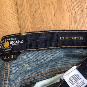 Lucky Brand Jeans - 121 Heritage Slim Lucky Jeans